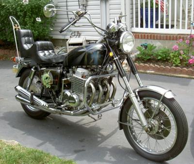 Honda CB 750 1970 Honda CB750 Black