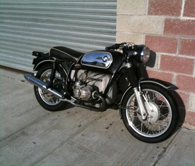1971 BMW R75 5 motorcycle (this photo is for example only; please contact seller for pics of the actual motorcycle for sale in this classified)
