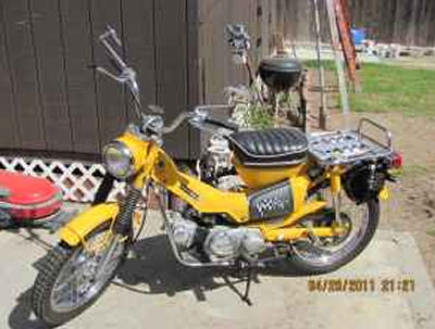 1971 Honda 90 Trail Motorcycle (not the one for sale in this ad but similar)