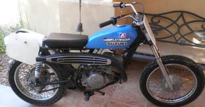 1971 Vintage Suzuki TS 250 FLAT TRACKER Track Bike