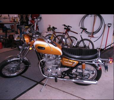 1971 Yamaha 650 XS1B - Under 2000 Original Miles
