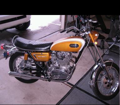 1971 Yamaha 650 XS1B