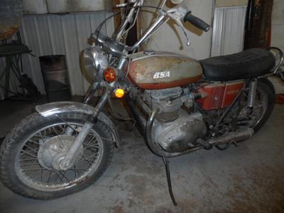 1972 BSA Lightning 650cc Twin motorcycle for sale in SD