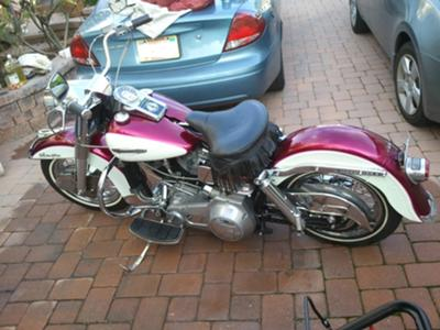 1972 Harley Davidson Electraglide Shovelhead