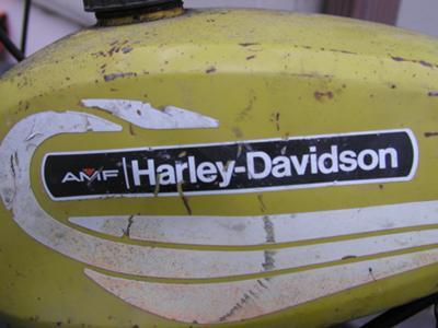 1972 Harley Davidson Shortster Fuel Gas Tank