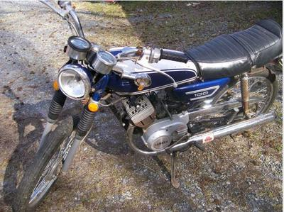 1972 LS2 Yamaha 100 cc (this photo is for example only; please contact seller for pics of the actual motorcycle  for sale in this classified)