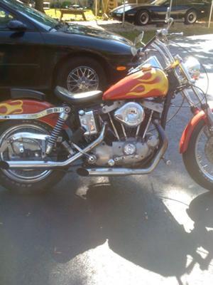 1972 Harley Davidson Sportster 1000cc Ironhead