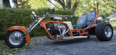 1972 Trike  with Two Full Adult Size motorcycle Seats