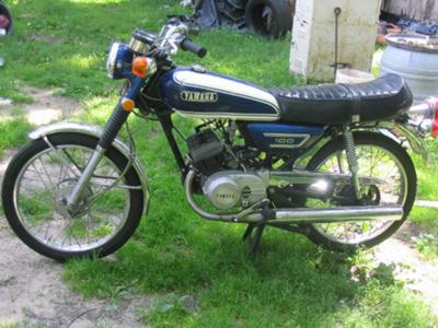 1972 Yamaha 100cc  SOLD to a GUY in SWEDEN!