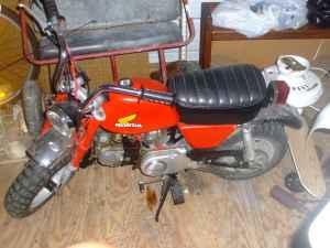 1973 Honda 50 Minitrail Motorcycle Vintage
