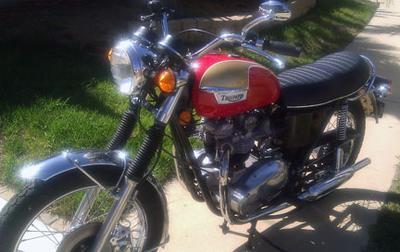 1973 Triumph Bonneville 750 T140v Museum Quality