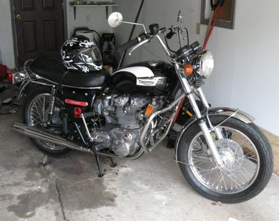 1973 Triumph Trident Motorcycle