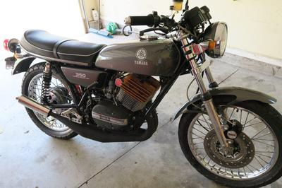 1973 Yamaha RD350 Cafe Racer for Sale by Owner