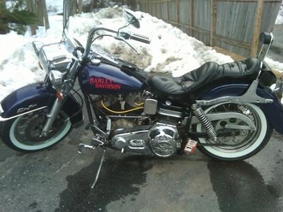 1974 Harley Davidson FLH Shovelhead 1200cc Electraglide