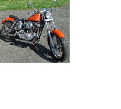 1974 Harley Davidson Sportster XLCH Ironhead
