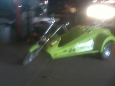 Modified 1974 RUPP Centaur Trike Body Mold and Plug