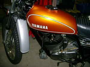 1974 Yamaha DT 250