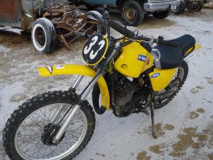 1974 Yamaha MX 400
