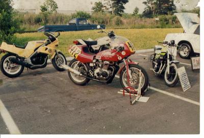 1976 1975 Honda CB400f super sport road race modified motorcycle