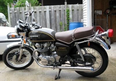 Vintage 1975 Honda CB500T