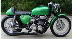 1975 Honda CB 750 CB 750 custom customized restored Cafe racer racing motorcycle