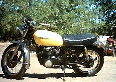 1975 Honda Motorcycle 554 cc