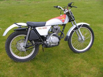 Honda on Vintage 1975 Honda Tl125  Not The One In The Ad Call For Pics