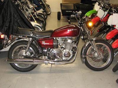 1976 750 HONDAMATIC MOTORCYCLE (example only; please contact seller for pics)