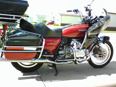 1976 Honda Goldwing GL1000!