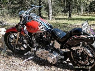 1976 Harley Davidson Superglide Super Glide (example only)