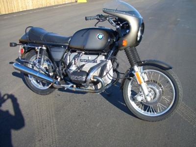 1977 BMW R100 motorcycle
