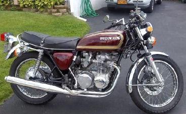 1977 Honda CB550 Super Sport 550 Supersport Motorcycle