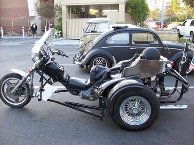 1977 VW Trike Motorcycle made by AZ trike for sale by owner Arizona California CA