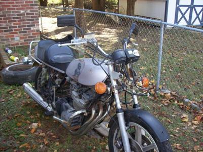 1977 Yamaha 750 Drag Bike