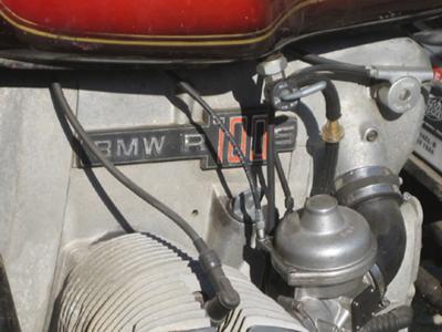 1978 BMW R100S Engine