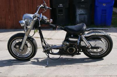 Old 1978 Harley Davidson FL Basket Case Motorcycle for Sale by owner in CA California