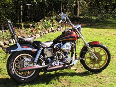 1978 Harley Davidson Shovelhead FXS Low Rider Lowrider