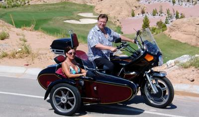 1978 Honda Goldwing and Spyder Sidecar