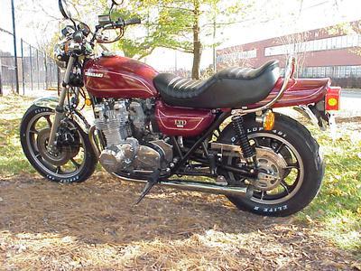 1978 Kawasaki KZ1000 LTD