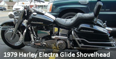 1979 Harley Davidson Electra Glide Shovelhead Motorcycle