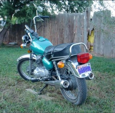 1979 Honda Twinstar 185cc