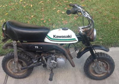 1979 Kawasaki KV75 Motorcycle for sale by owner in TX Texas