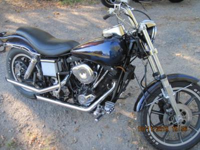 1980 Harley Davidson FSX Low Rider 1340 cc Shovelhead