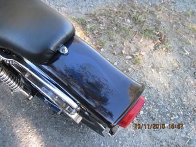 1980 Harley Davidson FSX Low Rider 1340 cc Shovelhead Rear Fender