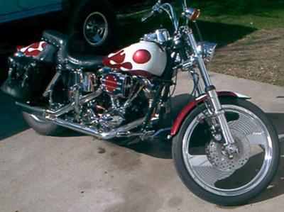1980 Harley Davidson Shovelhead Street Custom Wide Glide