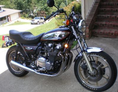 1980 Kawasaki KZ1000 G