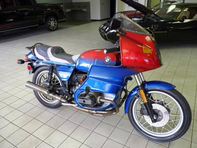 Red, white and Blue 1981 BMW Airhead R100 Runs & drives Great!