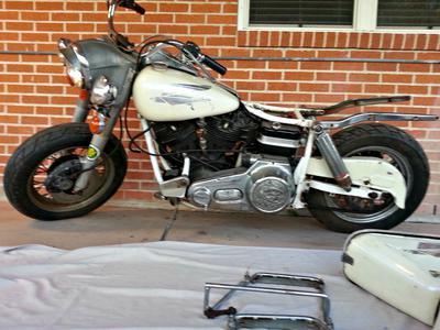 1981 Harley Davidson FLH Basket Case Project Motorcycle