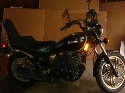 1981 Yamaha Midnight Maxim XJ650