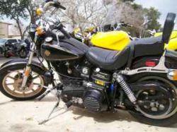 Black 1982 Harley Davidson Sturgis Motorcycle Collector Edition